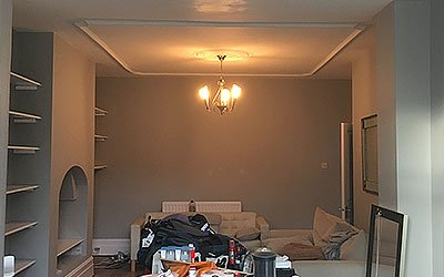 Interior plastering in Palmers Green