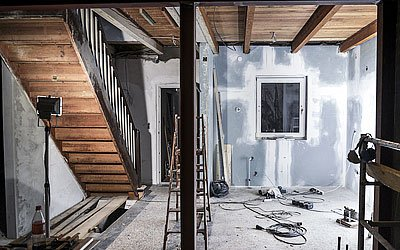 Plastering home extensions