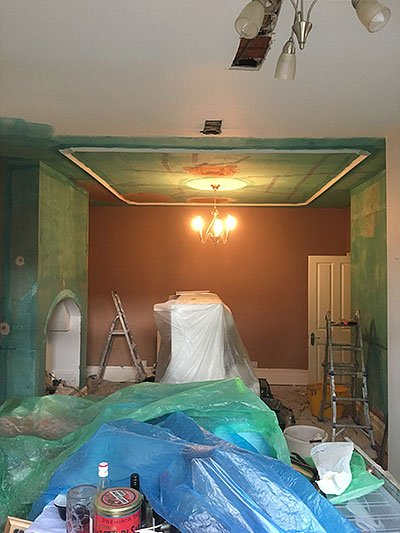Plastering walls in Palmers Green